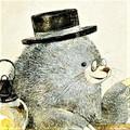 モグラのイラスト アズマモグラの絵 日本の野生動物のイラスト  Mole illust